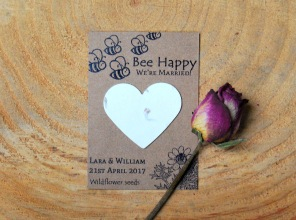 Eco wedding favours