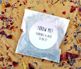 Biodegradable confetti